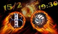 """Κύπελλο Ελλάδος (Φάση """"8""""): Θέτις Βούλας - Α.Ο. Θήρας (15/2, 19:30 livestreaming)"""