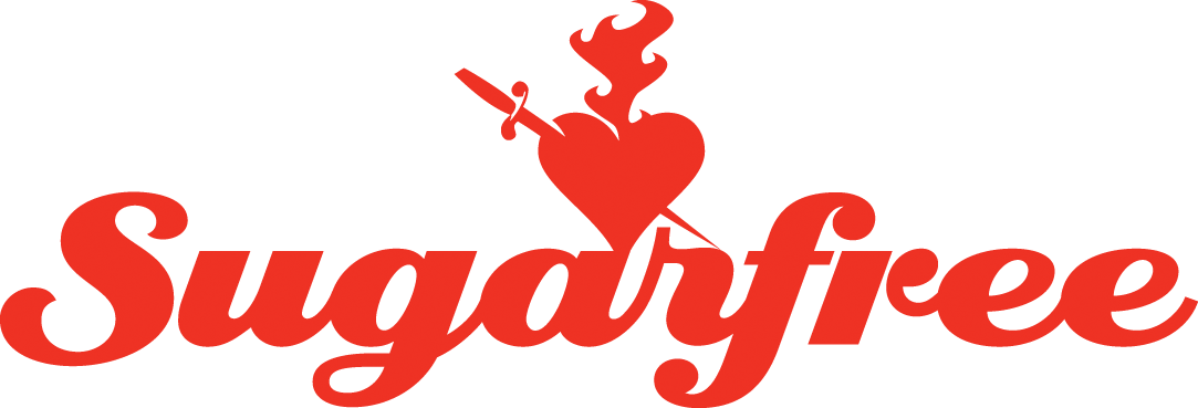 SUGARFREE LOGO RED Converted