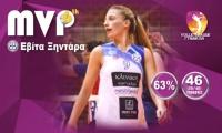 Η Εβίτα Ξηντάρα MVP της 6ης αγωνιστικής