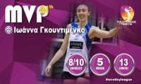 Η Ιωάννα Γκουντιμένκο MVP της 21ης αγωνιστικής