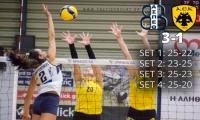Volleyleague: Θέτις Βούλας - AEK 3-1 (pics)